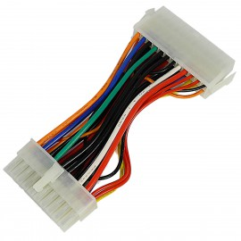 Câble Adaptateur ATX 20-Pin vers 24-Pin Alimentation Power Supply Adapter