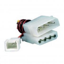 Câble Adaptateur Molex Mâle/Femelle + 2-Pin Ventilateur Power Supply Fan Adapter