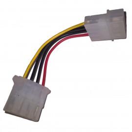 Câble Adaptateur Molex Mâle Molex Femelle 10cm Alimentation