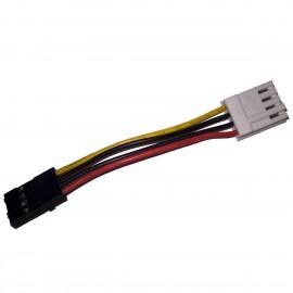 Câble Adaptateur 4-Pin Floppy 4-Pin 6cm Lecteur Disquette Floppy Disk Adapter