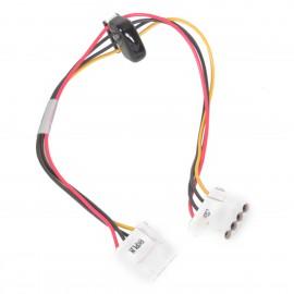 Câble Adaptateur Dell 06M427 6M427 3x Molex Ide Femelle PowerEdge 2600 Backplane