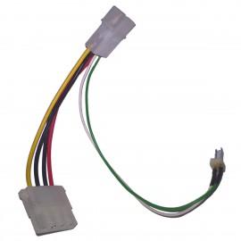 Câble Adaptateur IDE Molex Mâle / Femelle 2-Pin Mâle 12cm Power Supply Adapter
