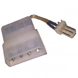 Câble Adaptateur IDE Molex Mâle / Femelle 3-Pin Mâle 6cm Power Supply Adapter