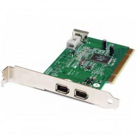 Carte PCI 2+1x Ports Firewire IEEE1394 Askey SD010-D82 80-SD0550100-3 9-Pin