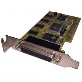 Carte Série PCI RS232 DB44 RX1 RX2 4056 RX14056P RX24056A Low Profile