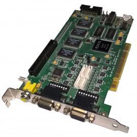 Carte Adaptateur Techwell R2416 16CH PCIe 2x VGA Video OUT Recorder Capture Card