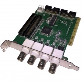Carte Video Switcher 4x BNC A91601274 P030709010000-12001 16 To 4 Channel PCI