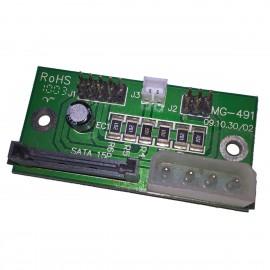 Carte Contrôleur SATA IDE Molex ACER MG-491 Controller Card 9-Pin 2-Pin 5-Pin