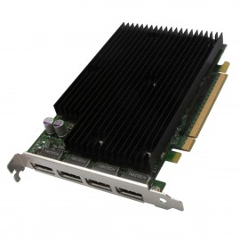Carte NVIDIA Quadro NVS 450 P624 490565-002 492187-001 4x DisplayPort PCIe 512Mo