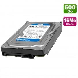 "Disque Dur 500Go SATA 3.5"" Western Digital WD5000AAKX-08U6AA0 03T7041 7200RPM"