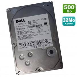 """Disque Dur 500Go 3.5"""" SATA HITACHI Dell HUA721050KLA330 0JN957 0A36071 7200RPM"""