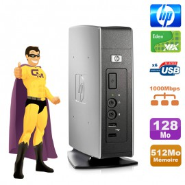 Client Léger HP Thin T5540 HSTNC-004-TC Eden 1 GHz 512Mo DDR2 128Mo