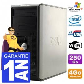 PC DELL 320 Tour Intel E5200 RAM 4Go Disque 250Go Windows XP Pro Graveur DVD