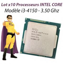 Lot x10 Processeurs CPU Intel Dual Core I3-4150 3.5Ghz 3Mo 5GT/s LGA1150 SR1PJ