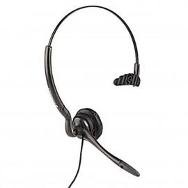 Ecouteurs Micro-Casque PLANTRONICS CHS14E H141N Jack 3.5mm Gris Noir Headset