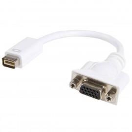 Adaptateur Mini-DVI 32-Pin Mâle VGA DB15F StarTech MDVIVGAMF 20cm Macbooks iMacs