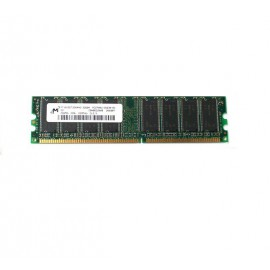 Ram Barrette Mémoire MICRON 256MB DDR2 PC-2700U 333Mhz MT16VDDT3264AG-335B4 PC