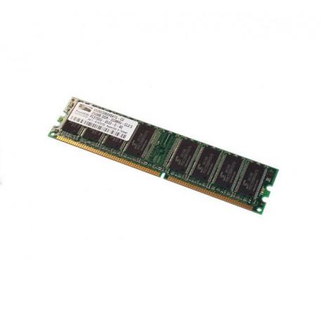 Ram Barrette Mémoire ProMOS 256MB DDR PC-2700U 333MHz V826632K24SATG-C0 Pc