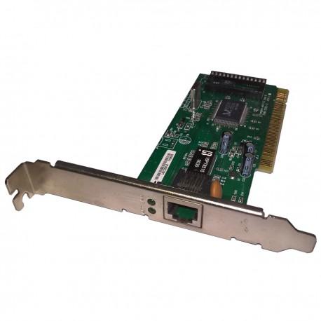 Carte Réseau REALTEK GQ968 37NB-1215C-1.1 UEC2200-B 10/100Mbps PCI 1x Port RJ-45