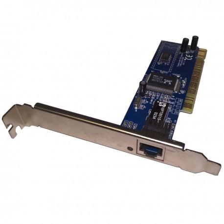 Carte Réseau REALTEK PEAB-FAST 37PB-12270-211C 10/100Mbps PCI 1x RJ-45 Ethernet
