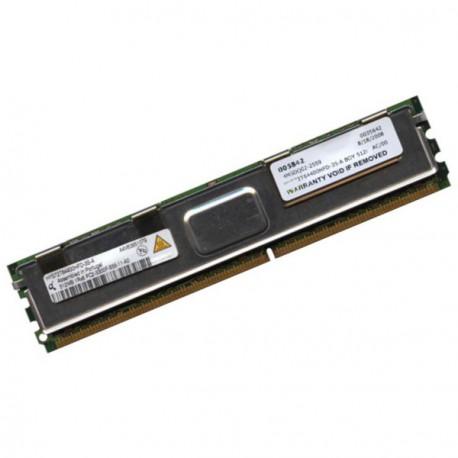RAM Serveur QIMONDA 512Mo DDR2 PC2-5300F Fully Buffered ECC HYS72T64400HFD-3S-A