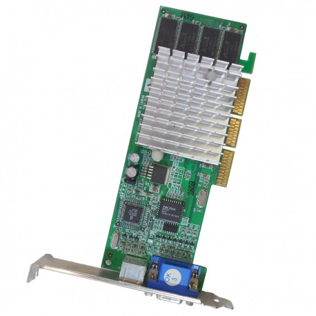 Carte Graphique LEADTEK WinFast GeForce2 MX200 LR2853 AGP 4x/8x 64MB VGA S-Video