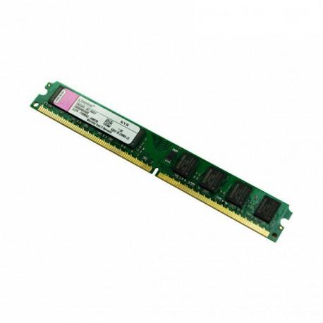 Ram Barrette Mémoire Kingston 2Go DDR2 PC2-5300U 667Mhz KFJ2889/2G Low Profile