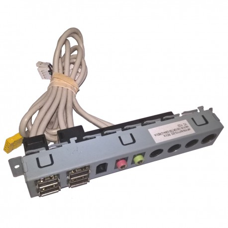 Front Panel I/O HP Envy 700 Series 647115-002 10010KT00-GW4-G 4xUSB Audio IN/OUT
