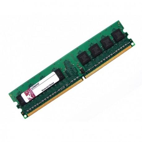 Ram Barrette Mémoire Kingston 1Go DDR2 PC2-6400U 800Mhz KFJ2890/1G Unbuffered