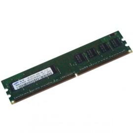 1Go Ram SAMSUNG M378T2863RZS-CF7 240-PIN DDR2 PC2-6400U 800Mhz 1Rx8 CL6