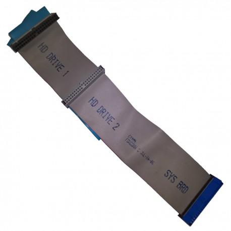 Câble Nappe IDE Dell FOXCONN 0C1906 C1906 3x 39-Pin 25cm Dimension Optiplex HDD