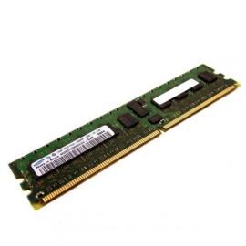 512Mo Ram Barrette Memoire SAMSUNG M378T6553EZS-CD5 DDR2 PC2-4200U 533Mhz 1Rx8