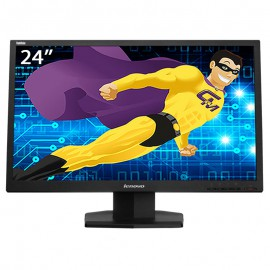 "Ecran PC 24"" LENOVO ThinkVision LT2423wC 03T8466 16:9 LCD TFT VGA HDMI VESA"