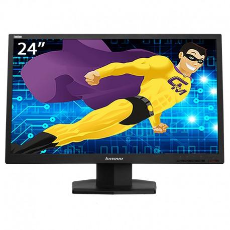 "Ecran PC 24"" LENOVO ThinkVision LT2423wC 03T8466 LCD TFT VGA HDMI VESA 1920x1080"