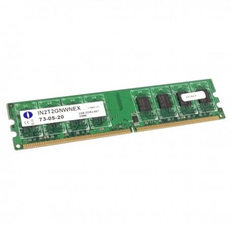 2Go RAM PC Bureau INTEGRAL IN2T2GNWNEX 240-Pin DIMM DDR2 PC2-5300U 667Mhz CL5