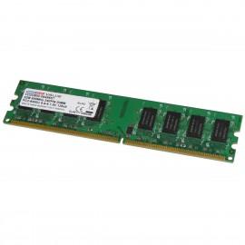 2Go RAM DANE-ELEC VD2D800-064566T DIMM DDR2 PC2-6400U 2Rx8 PC Bureau 800Mhz