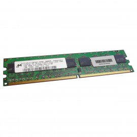 1Go RAM Micron MT18HTF12872AY-53EB1 DDR2 PC2-4200U 533Mhz 2Rx8 CL4 PC Bureau