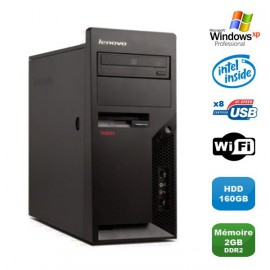 PC IBM Lenovo M57 MT-M 6075-CTO Intel PentuimD 1.80Ghz 2GoDDR2 160Go WIFI WinXP