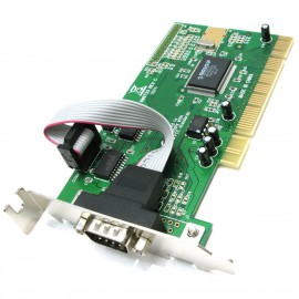 Carte PCI Port Serie RS-232 MOSCHIP NM9735 FG-PIO9835L-2S-01-MC01 Low Profile