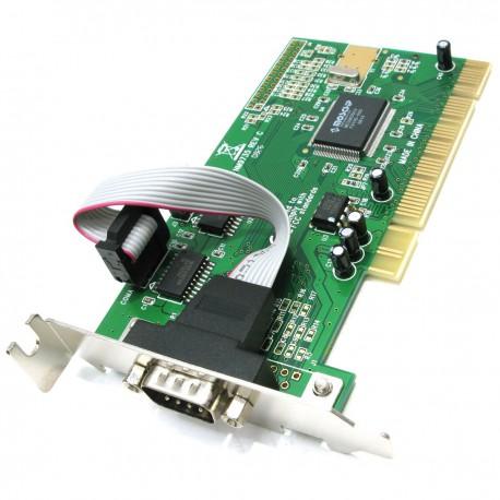 Carte PCI 1 Port Serie RS-232 MOSCHIP NM9735 FG-PIO9835L-2S-01-MC01 Low Profile
