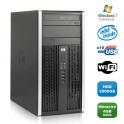 PC HP Compaq 6000 Pro MT Intel E3400 2,6GHz 4Go DDR2 2000Go WIFI Windows 7 Pro