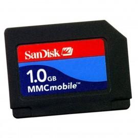 Carte MMC 1Go SanDisk SDMMCM-1024-E10M MMCMobile Card 1GB 3.3v NEUVE