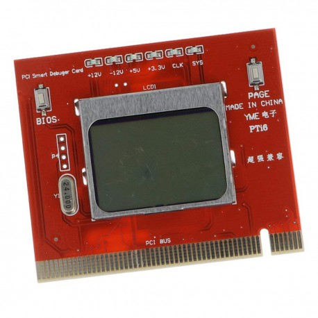Carte PCI Smart Debuger Motherboard Card Tester LCD Display NEUVE