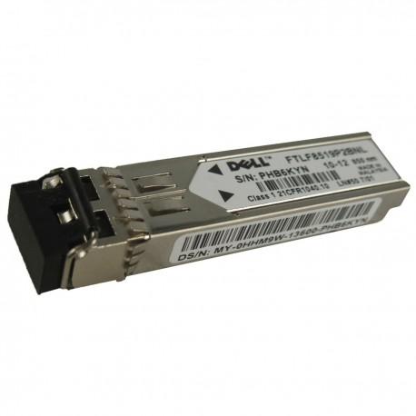 Adaptateur GBIC Transceiver Dell FTLF8519P2BNL 0X3366 0HHM9W 1000 Base-SX SFP