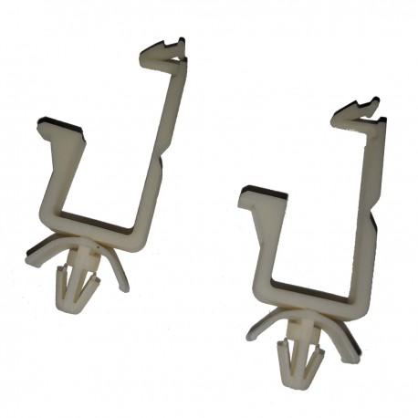 Lot 2x Clips Rétention Câble Dell 0HJ001 HJ001 Cable Cord Locking Clips NEUF