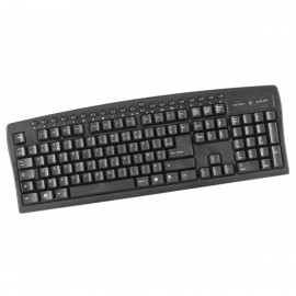 Clavier PC Filaire AZERTY USB DACOMEX 225106 126 Touches Desktop Keyboard NEUF