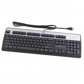 Clavier PC Filaire AZERTY USB HP KU-0316 434821-051 435382-051 104 Touches NEUF