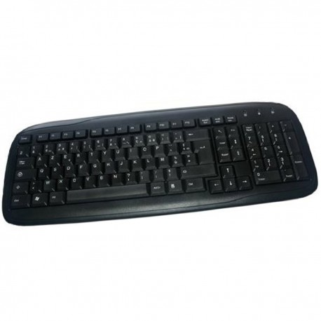 Clavier PC Filaire AZERTY USB MCL Samar ACK-298N ACK-298/N73672 104 Touches
