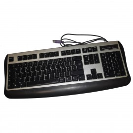 Clavier PC Filaire AZERTY PS/2 K647 FKD46A