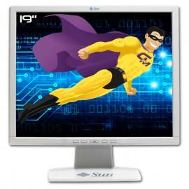 """Ecran Plat PC 19"""" Sun Microsystems L9ZF 365-1432-01 LCD TFT TN VGA DVI-D 5:4"""